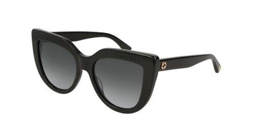 Gucci GG0164S 001-black 53 Akiniai nuo saulės Moterims