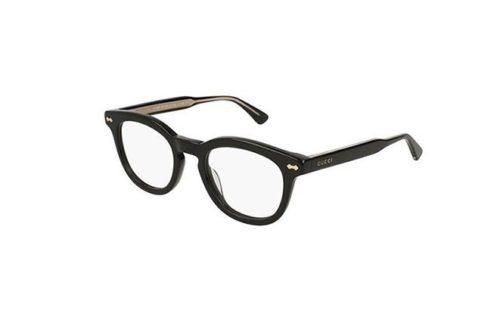 Gucci GG0183O 005-black 50 Akinių rėmeliai Unisex