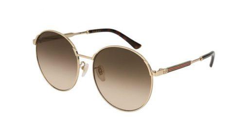 Gucci GG0206SK 003-gold 58 Akiniai nuo saulės Unisex