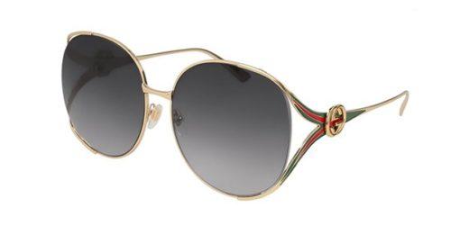 Gucci GG0225S 001-gold 63 Akiniai nuo saulės Moterims