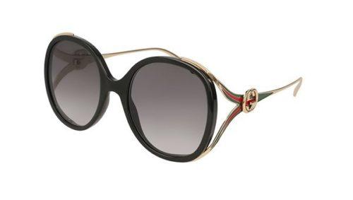 Gucci GG0226S 001-black 56 Akiniai nuo saulės Moterims
