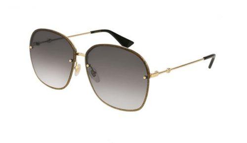 Gucci GG0228S 002-gold 63 Akiniai nuo saulės Moterims