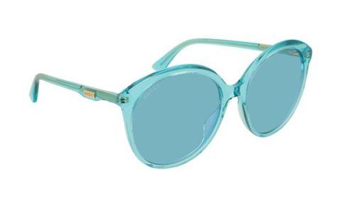 Gucci GG0257S 003-light-blue-light-blue 59 Akiniai nuo saulės Moterims