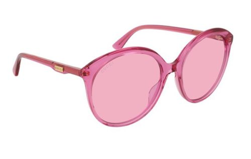 Gucci GG0257S 005-fuchsia-fuchsia-pink 59 Akiniai nuo saulės Moterims