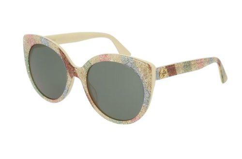 Gucci GG0325S 004-multicolor-multicolor 55 Akiniai nuo saulės Moterims