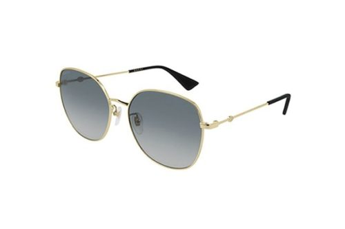 Gucci GG0415SK 001-gold-gold-grey 59 Akiniai nuo saulės Moterims