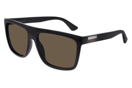 Gucci GG0748S 002 black black brown 59 Akiniai nuo saulės Vyrams