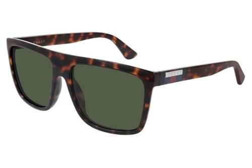 Gucci GG0748S 003 havana havana green 59 Akiniai nuo saulės Vyrams