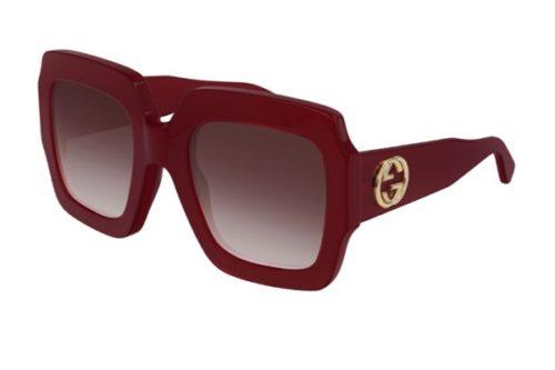 Gucci GG0178S 005 red red red 54 Akiniai nuo saulės Moterims