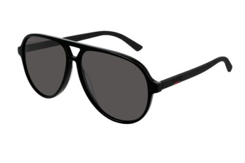 Gucci GG0423S 007 black black grey 60 Akiniai nuo saulės Vyrams