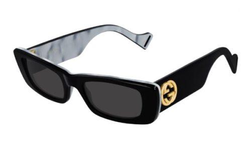 Gucci GG0516S 001 black black grey 52 Akiniai nuo saulės Moterims