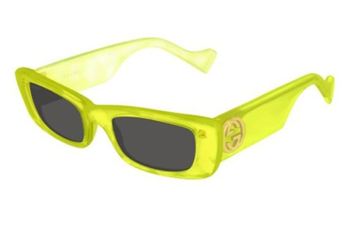 Gucci GG0516S 004 yellow yellow grey 52 Akiniai nuo saulės Moterims