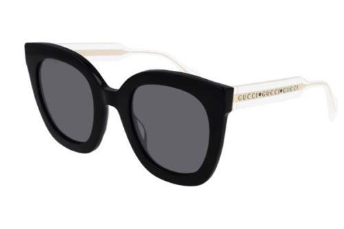 Gucci GG0564S 001 black crystal grey 51 Akiniai nuo saulės Moterims
