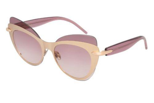 Pomellato PM0046S 002 gold violet violet 60 Akiniai nuo saulės Moterims