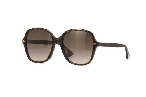 Gucci GG0092S 002-avana 55 Akiniai nuo saulės Moterims