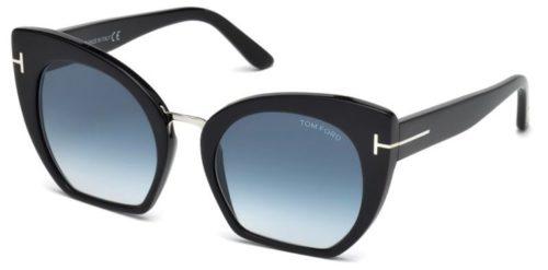 Tom Ford FT0553 01W 55 Akiniai nuo saulės