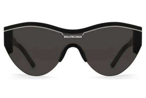 Balenciaga BB0004S 001 black black grey  Akiniai nuo saulės Unisex