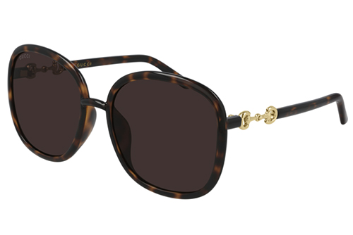 Gucci GG0892SA 002 havana havana brown 60 Akiniai nuo saulės Moterims