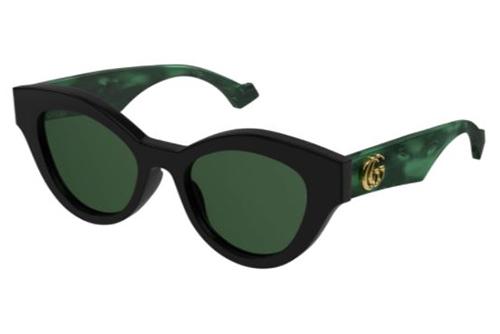Gucci GG0957S 001 black green green 51 Akinių rėmeliai Moterims
