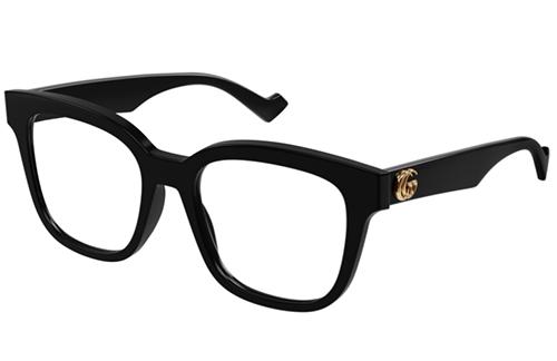 Gucci GG0958O 004 black black transpare 52 Akinių rėmeliai Moterims